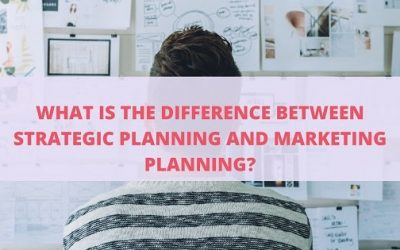 What is the main difference between strategic planning and marketing planning 2020?
