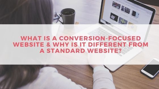 What is a conversion-focused website