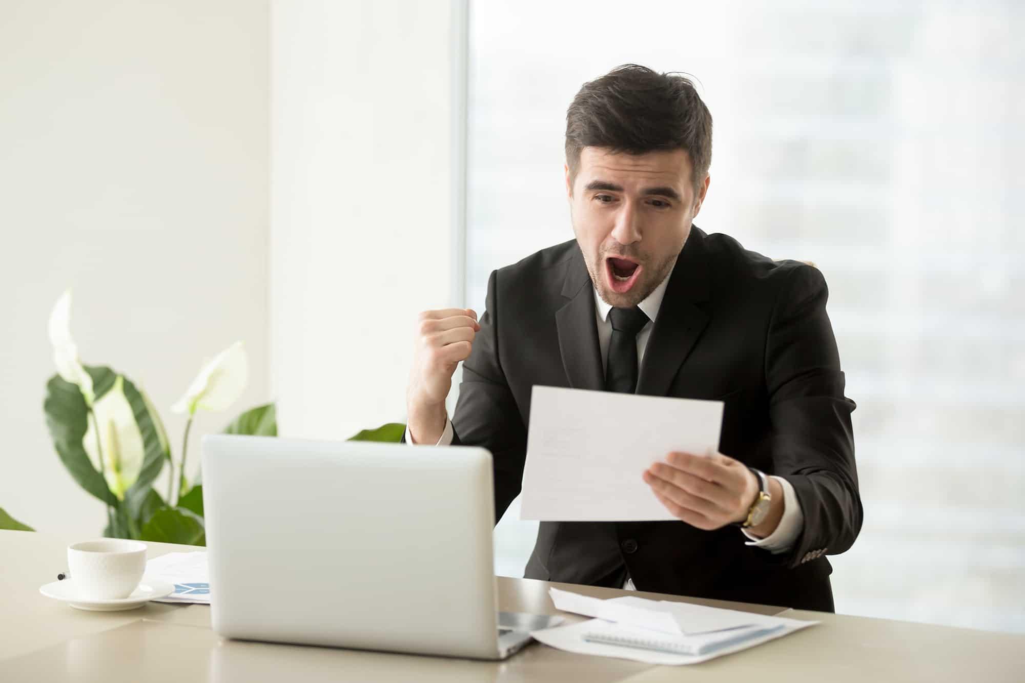Employee Happy Promotion Salary Increase