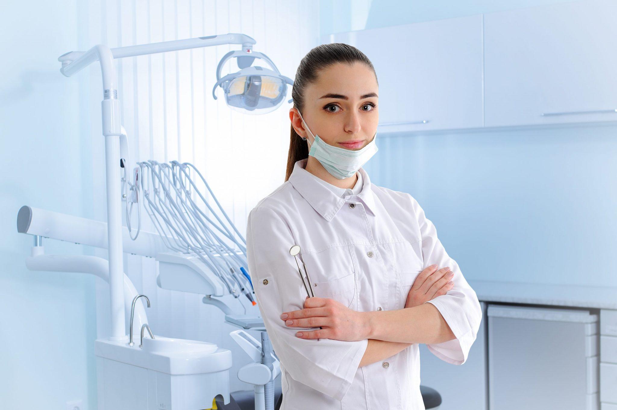 Portrait Dantist Dental Clinic Scaled