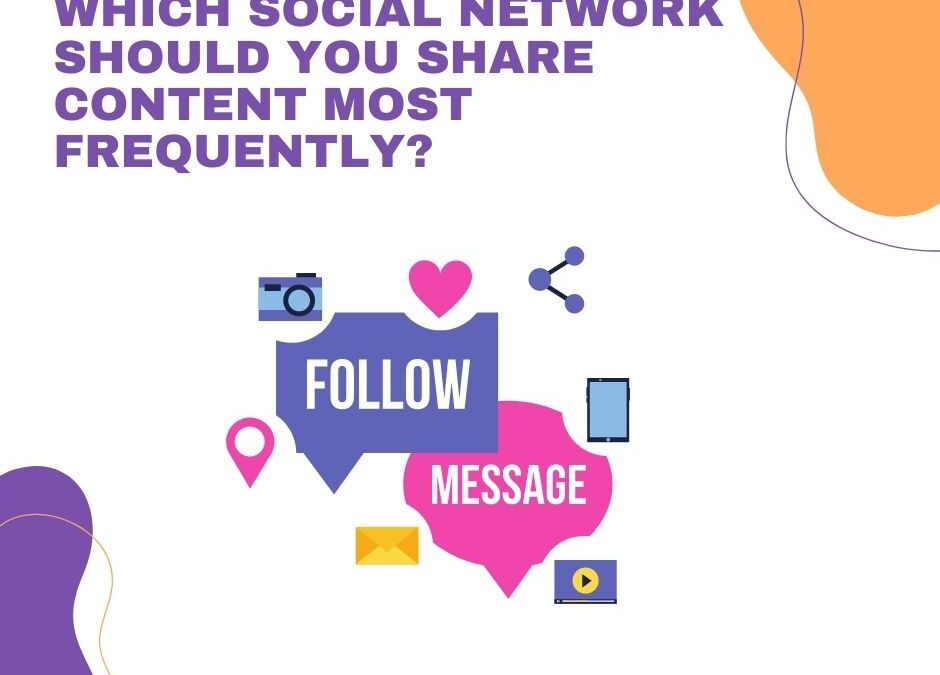 Which Social Network Should You Share Content Most Frequently
